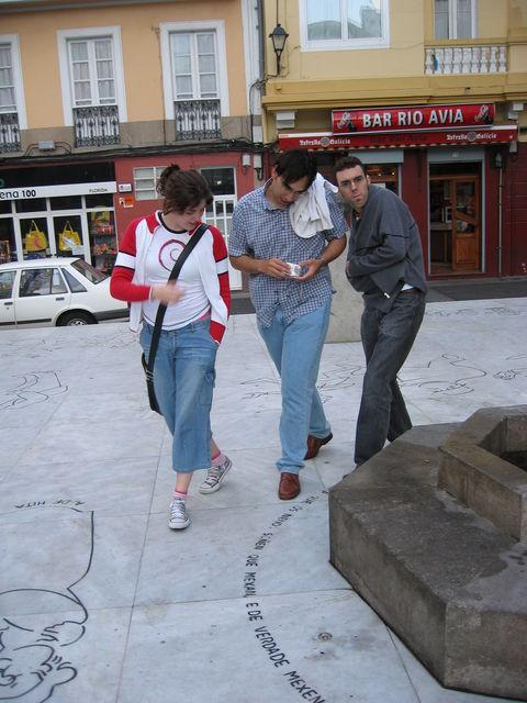 Pablo, Álvaro y Yaiza